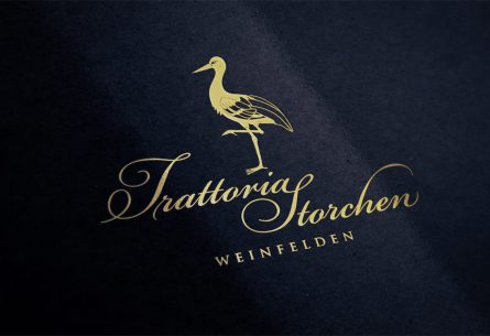 Trattoria Storchen - Logo- & Signetentwicklung