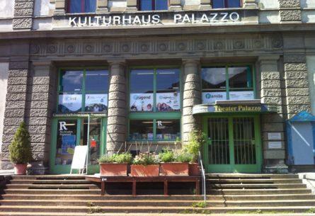 Fensterbeschriftung - Kulturhaus Palazzo Liestal