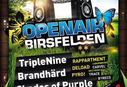 Openair Birsfelden - Plakat A2 / A1