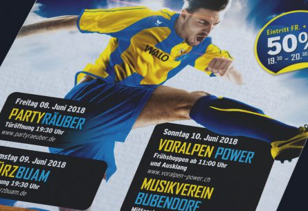 FC Bubendorf Gruempeli 2018 Flyer DIN A5