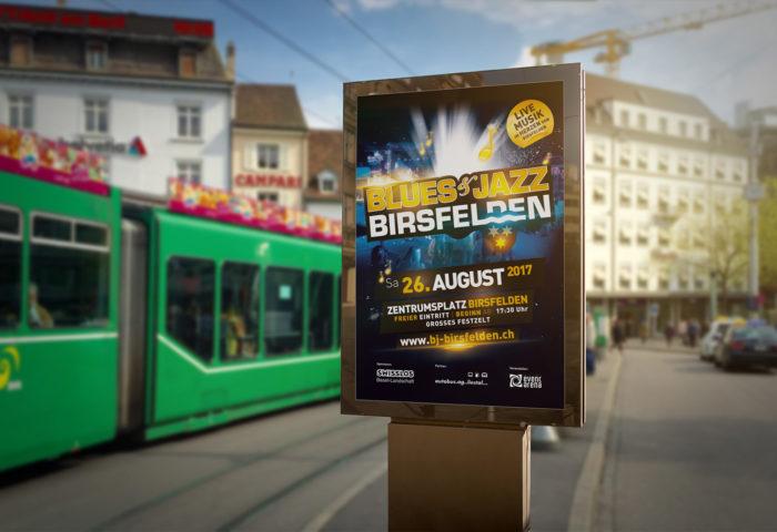 Blues & Jazz Festival Birsfelden - Poster A1