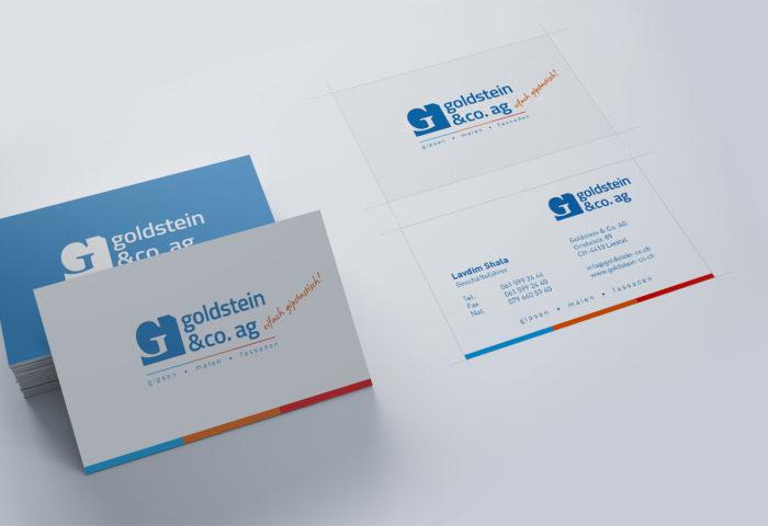 Goldstein & Co. AG - Branding, CI-Entwicklung