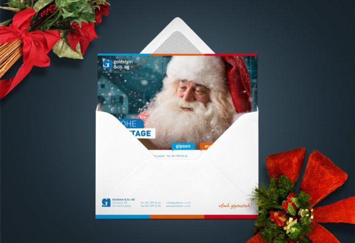 Goldstein & Co. AG - Weihnachtskarte DIN A5