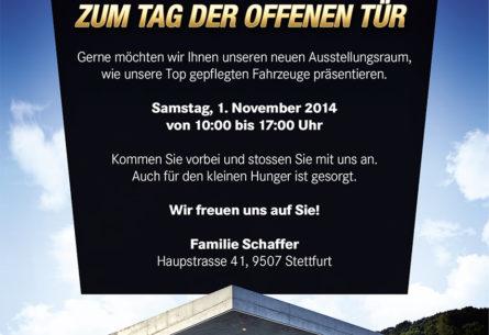 AutoSchaffer AG - Flyer DIN A5