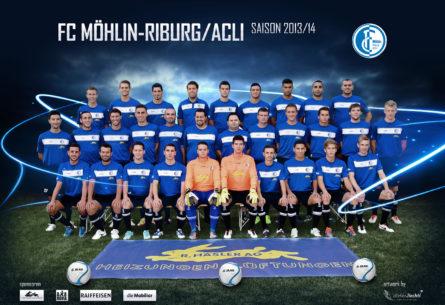 FC Möhlin-Riburg/ACLI - Artwork DIN A3