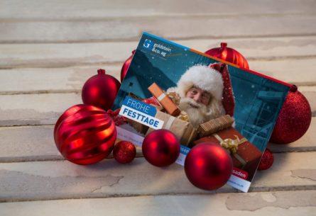 Goldstein & Co AG - Weihnachtskarten 2016