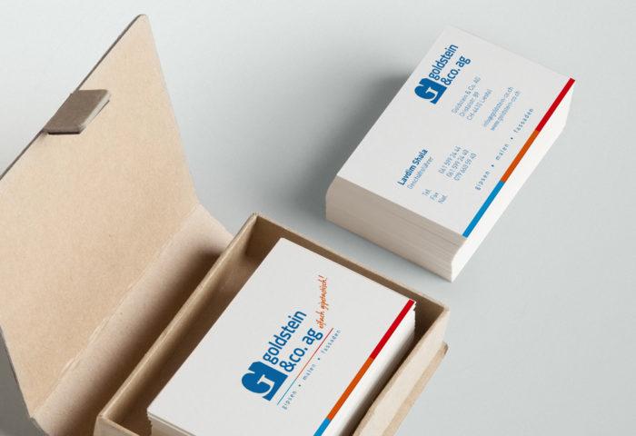 Goldstein & Co. AG - Visitenkarten