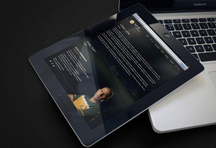 SportsAdvisors GmbH - Responsive Web Design