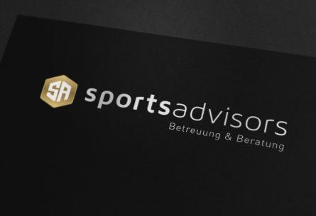 Sports Advisors - Branding, CI-Entwicklung