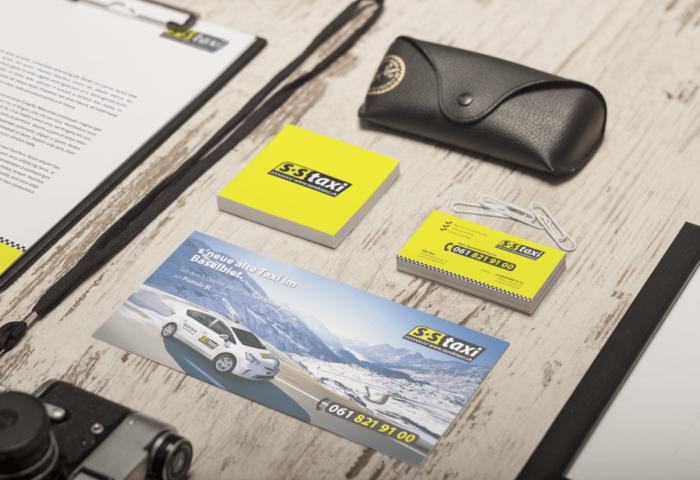 S&S Taxi Branding, Logo- und Signetentwicklung