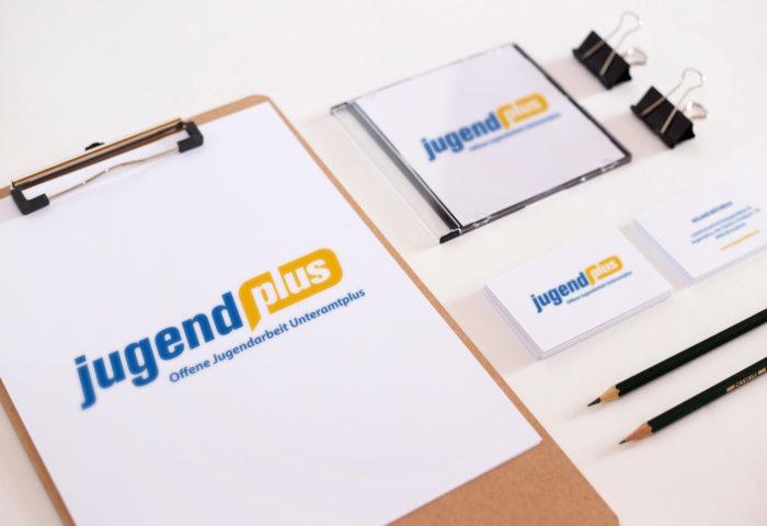 Jugendplus - Branding, CI-Entwicklung