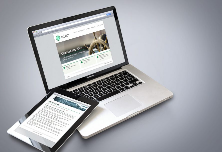 NB Controlling Consulting - Responsive Web Design