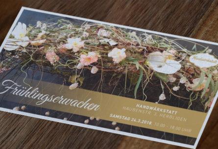 Handwärkstatt - Postkarte DIN Lang