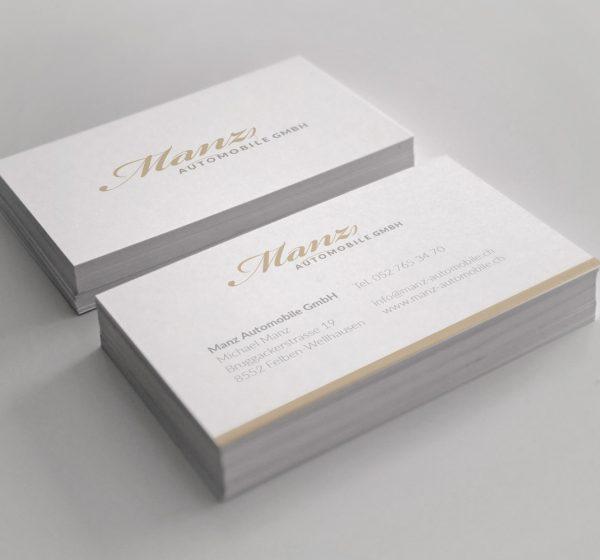 Manz Automobile GmbH - Corporate Identity