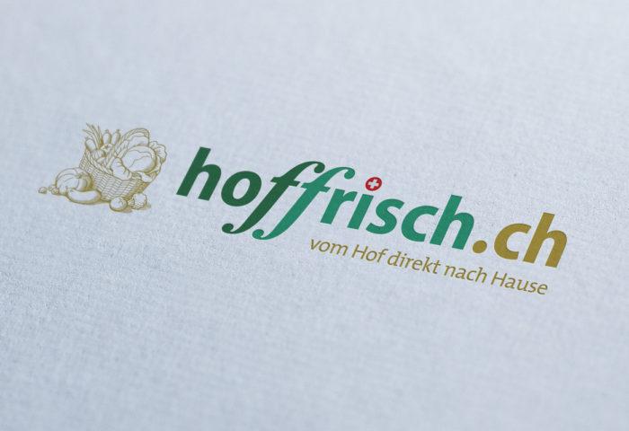 Hoffrisch - Logo- & Signetentwicklung