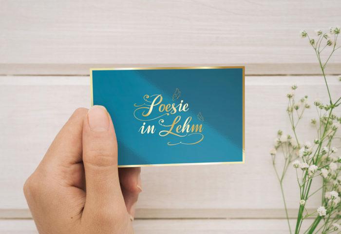Poesie in Lehm - Logo- & Signetentwicklung
