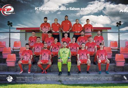 FC Pfäffikon - Mannschaftsfoto DIN A3