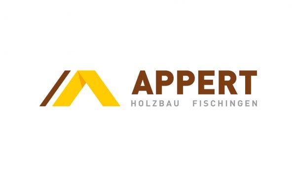 Appert Holzbau AG - Logo- & Signetentwicklung
