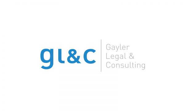 GLC Gayler Legal & Consulting - Logo- & Signetentwicklung