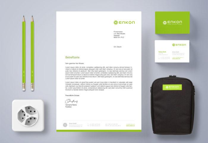 EnKon GmbH - CI Entwicklung