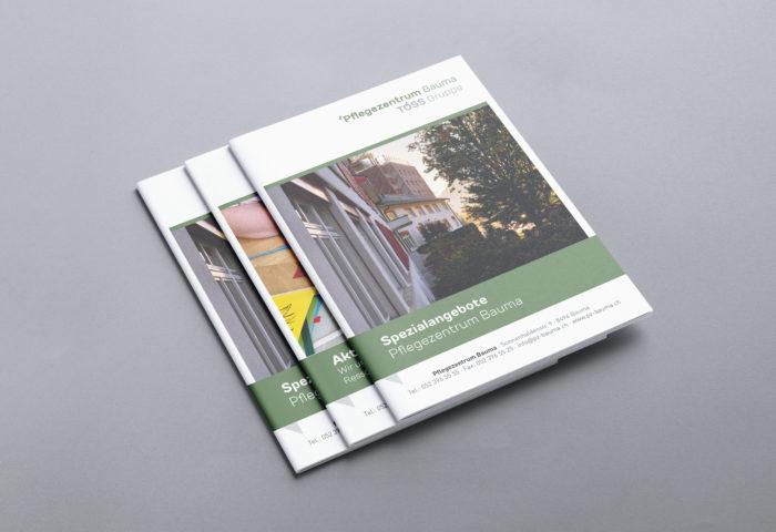 Pflegezentrum Bauma AG - Print Design