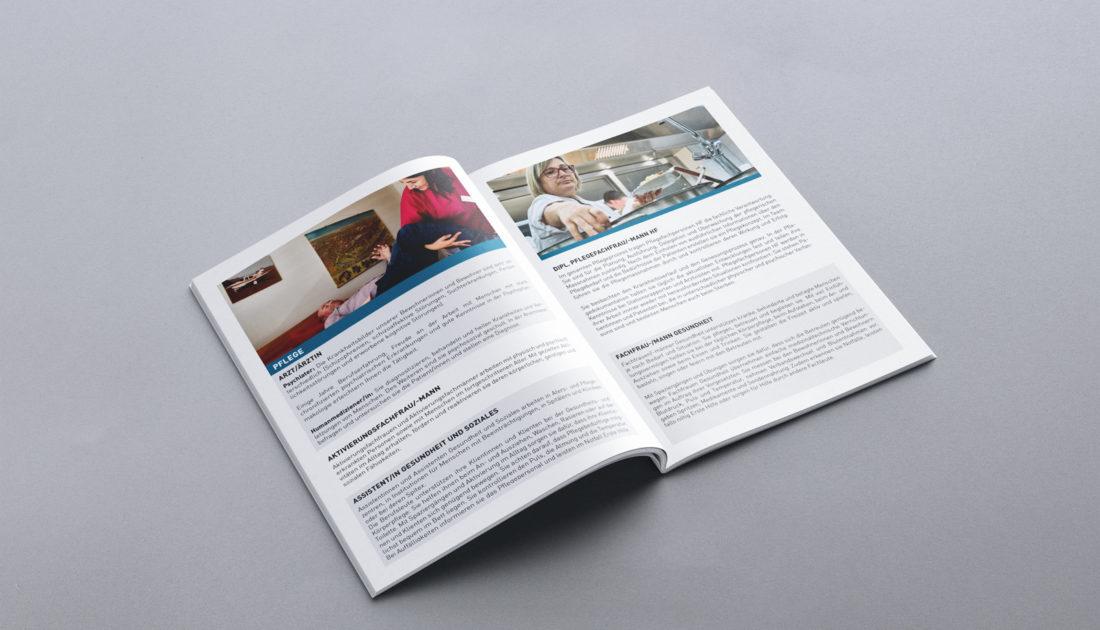Töss Gruppe - Print Design